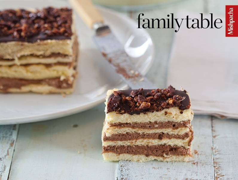 Gluten Free Layer Cake with Mousse Filling