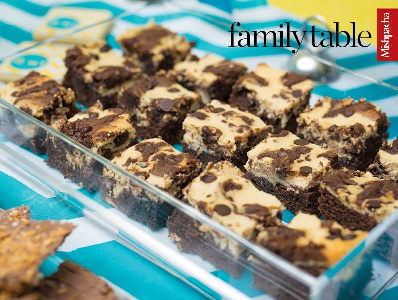 Chocolate Pudding Cappuccino Cheese Brownies