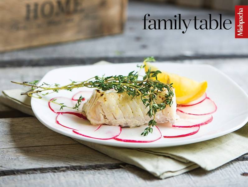 Lime and Dill Ocean Perch or Halibut