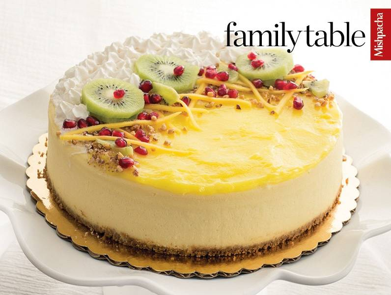 Fruity Crescent Cheesecake Topper