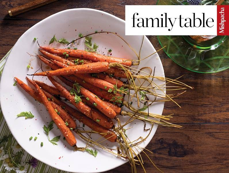Honey Balsamic Roasted Carrots