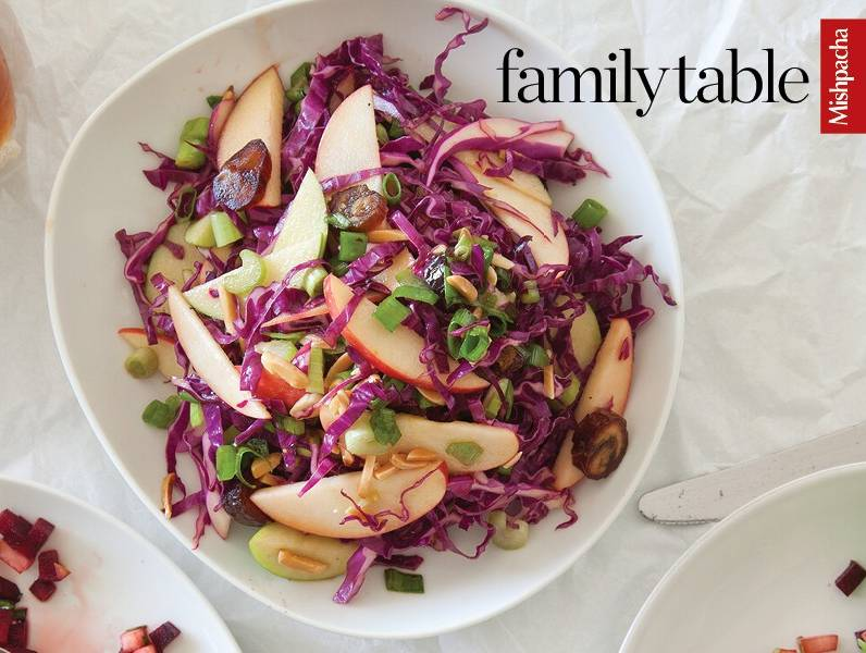 Fall-Inspired Red Cabbage Salad