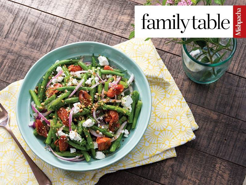 Green Bean and Roasted Cherry Tomato Salad