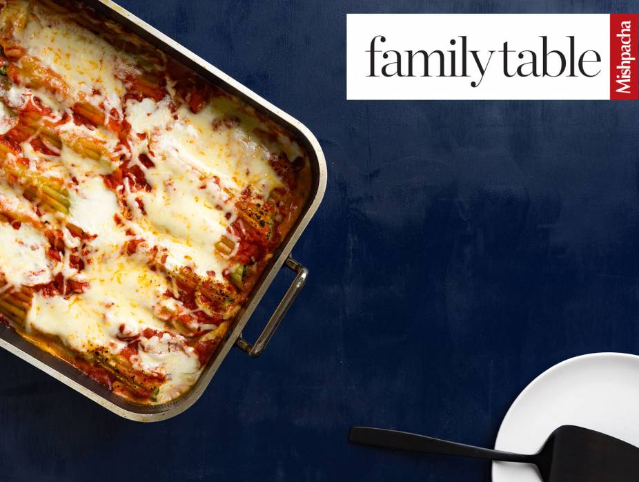 Spinach-Cheese Cannelloni