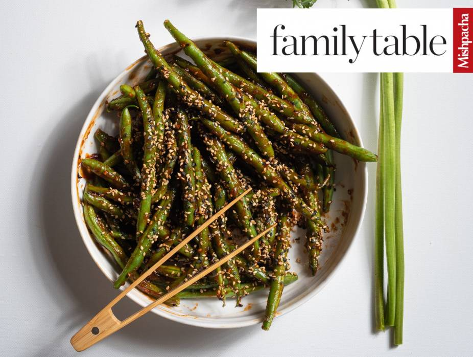 Green Beans With Sweet 'n Pungent Sauce