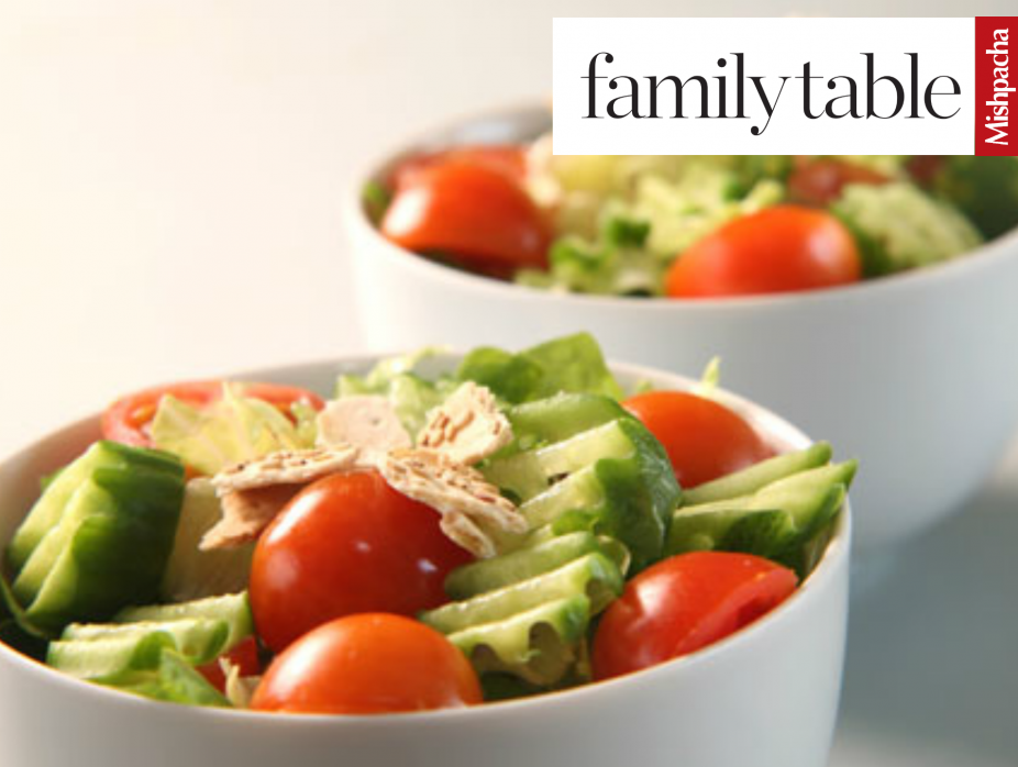 Salad with Special Dressing