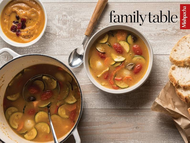 Hearty Roasted Vegetable Soup