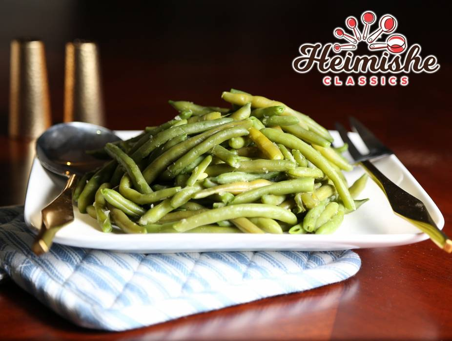 Shortcut Green Bean Sauté