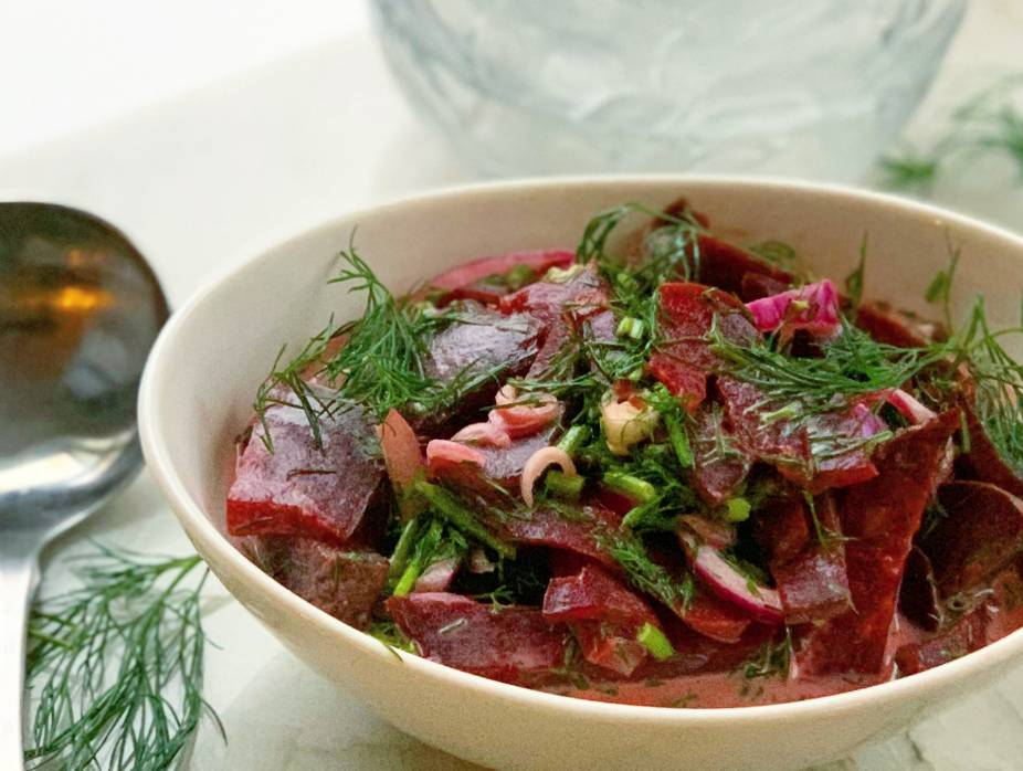 Creamy Beets and Dill