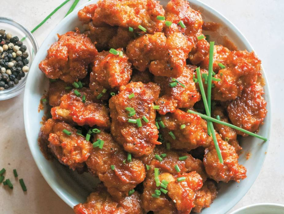 Carolina Barbecue Seitan Wings