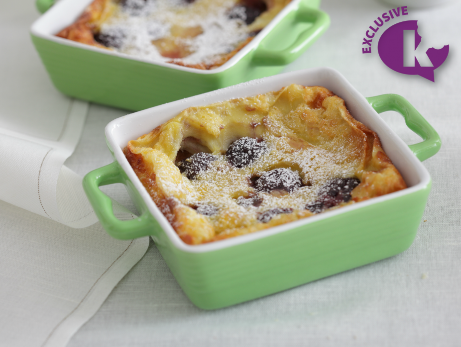 Seasons of a Pastry Chef- Cherry Clafoutis