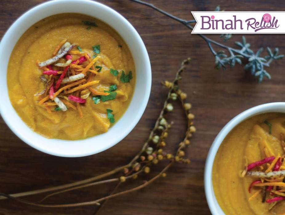 Creamy Red Lentil and Butternut Squash Soup