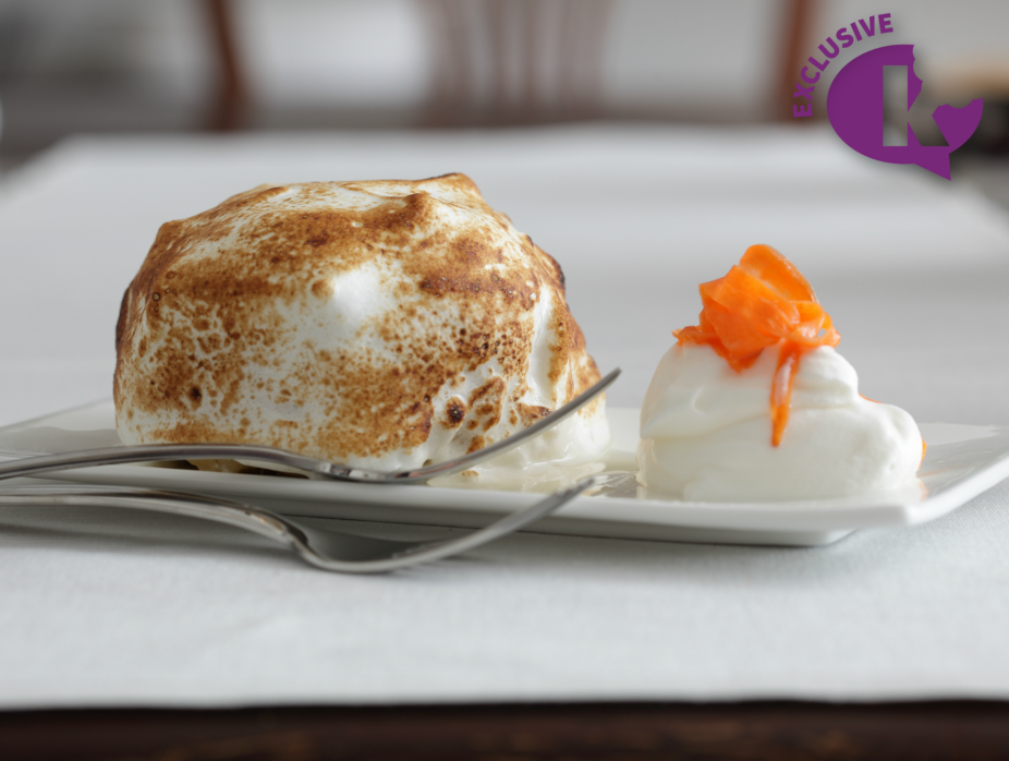 Seasons of a Pastry Chef: Baked Alaska Carrot Cake