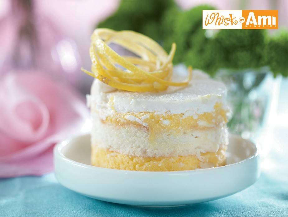 Gluten Free Frozen Lemon Wafer Cake