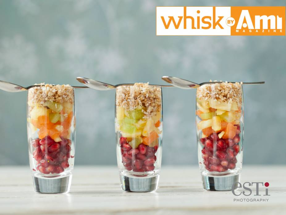 Macerated Fruit Salad with Crunch