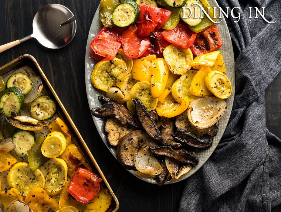 "Marinated ""Grilled"" Vegetables"