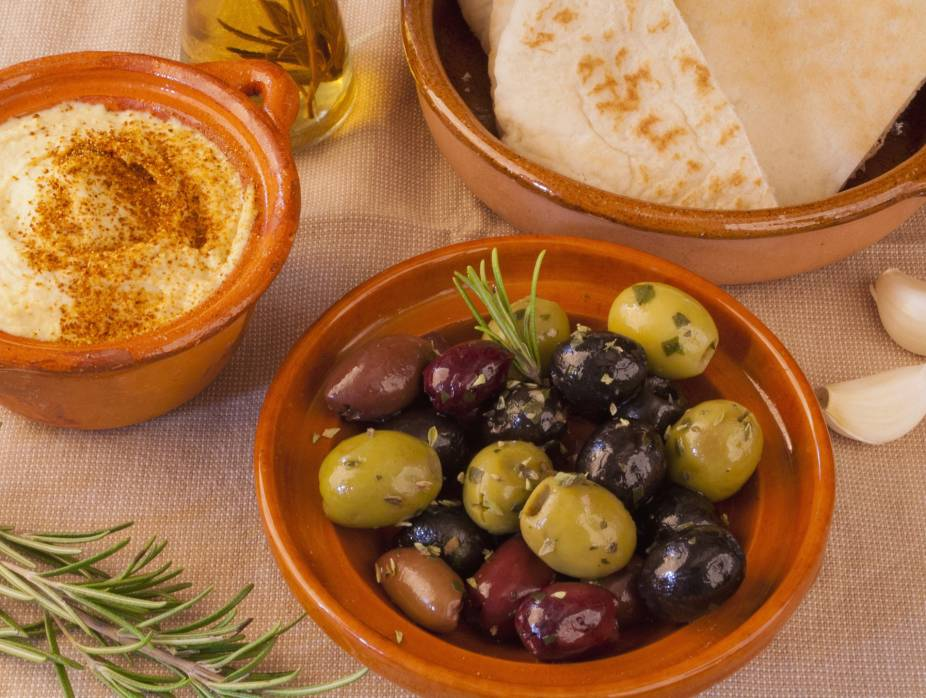 Middle Eastern Marinated Olives