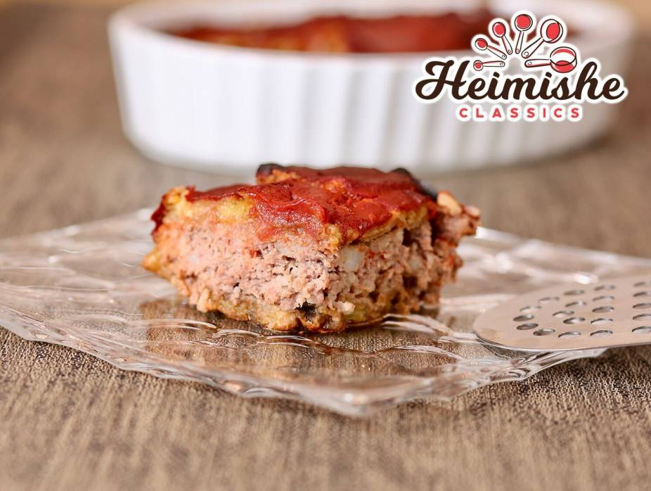 Meat in Eggplant Layers with Homemade Tomato Sauce