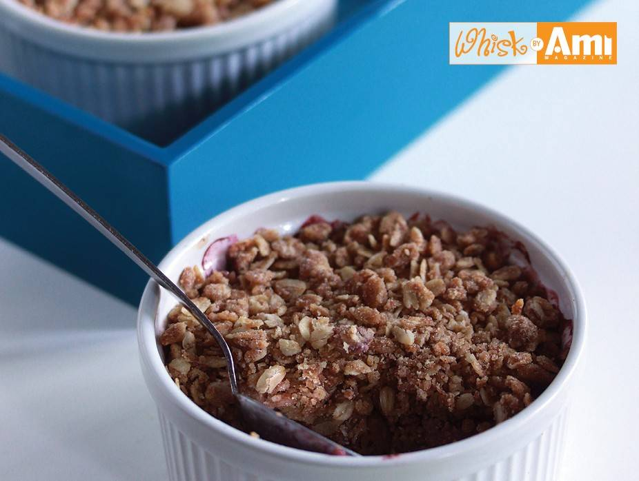 Mixed Berry and Apple Crumb