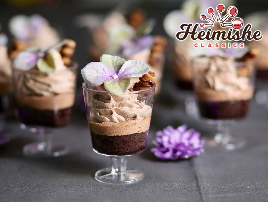 Mini Viennese Mousse Cups