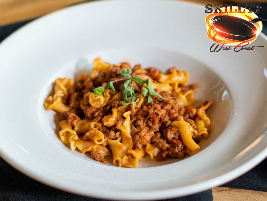 Pasta with Veal Bolognese