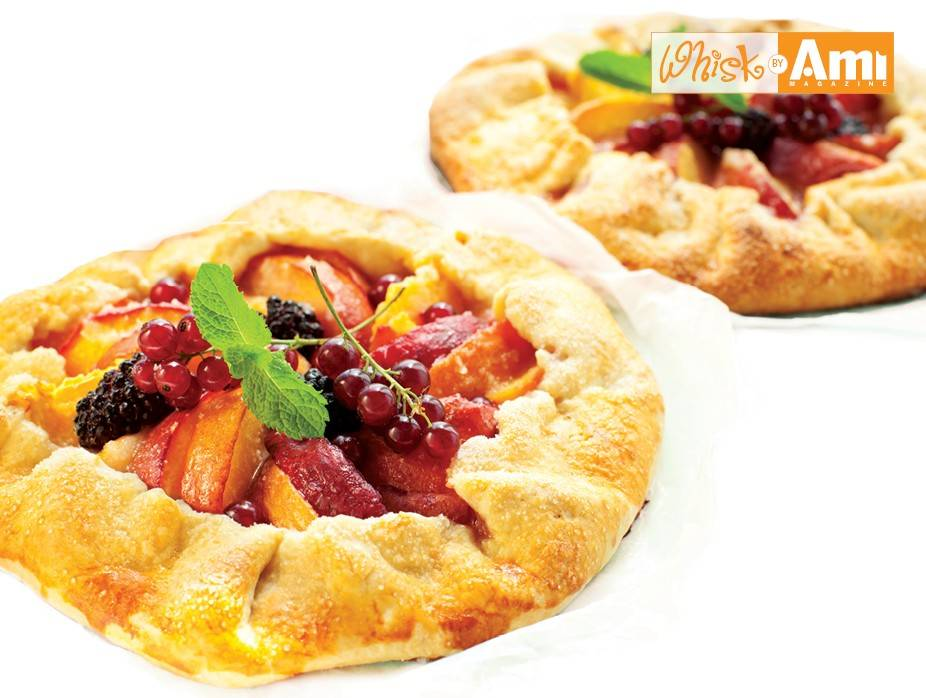 Nectarine and Plum Crostata