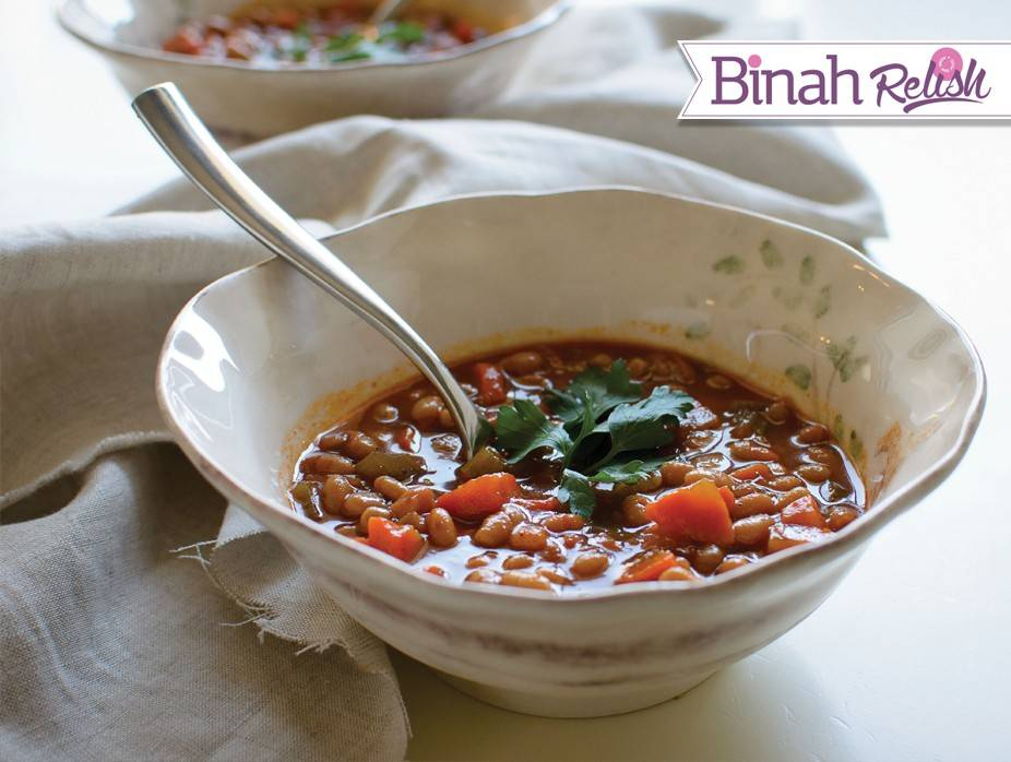 Carrot, Celery and Bean Soup