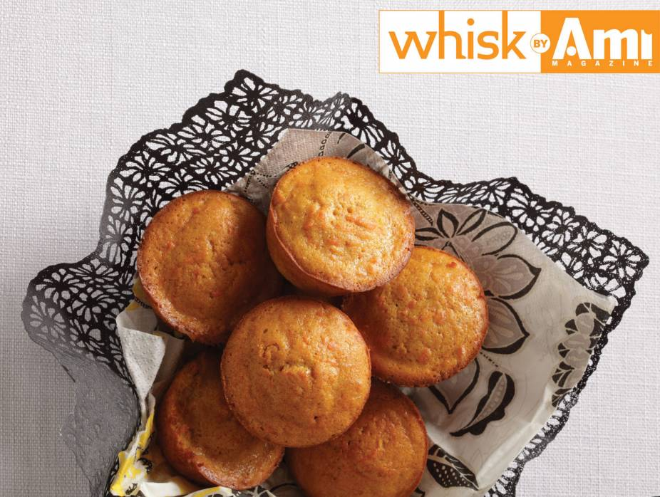Oil-Free Carrot Muffins