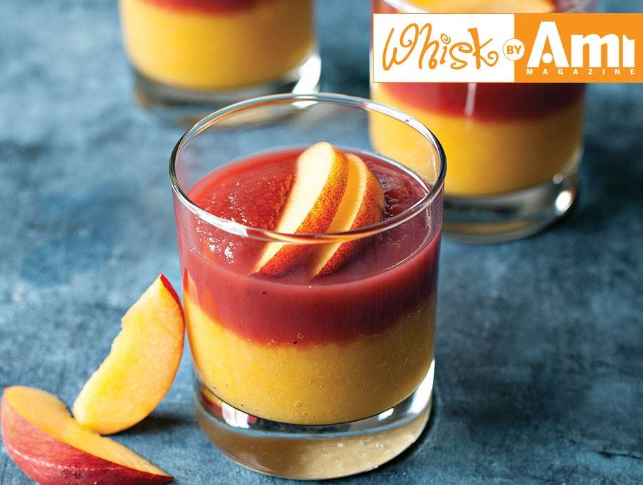 Peach and Berry Compote