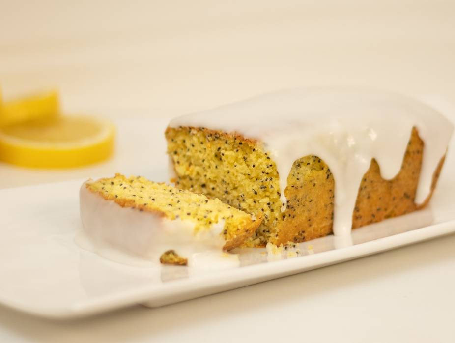 Luscious Lemon Poppy Seed Cake