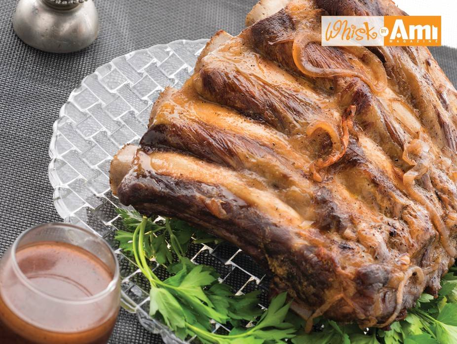 Rack of Ribs with Red Wine Reduction