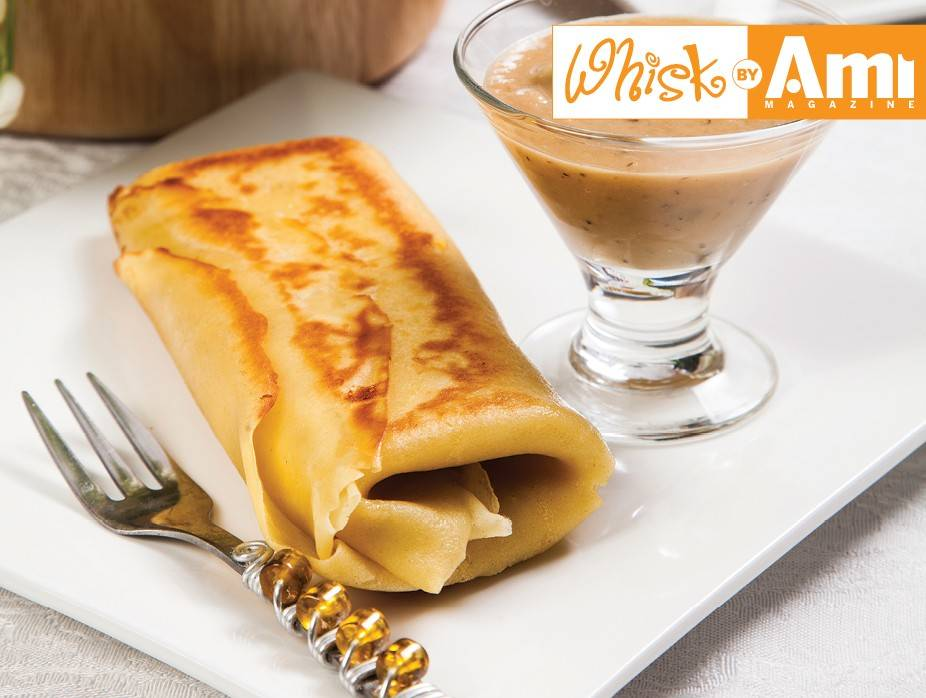 Savory Cheese Blintzes