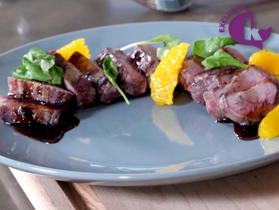 Seared Duck Breast with Pan Sauce