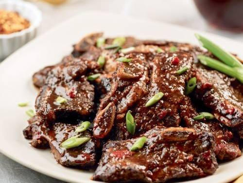 Spicy Ribs with Coffee and Chili Sauce (Instant Pot)