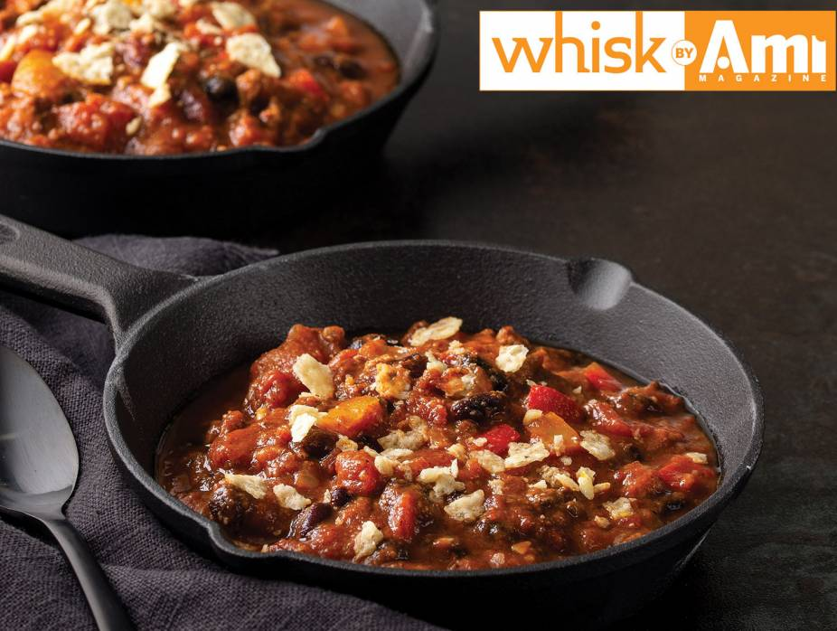 Slow-Cooker Fall Chili with Pumpkin