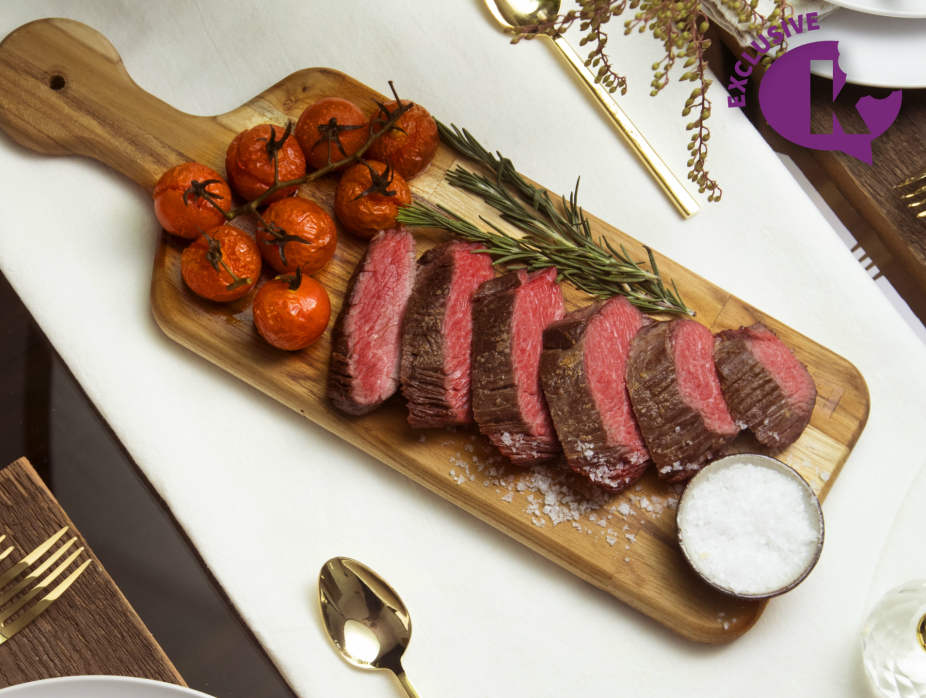 Sous Vide Oyster Steak with Homemade Sweet and Spicy Tomato Ketchup