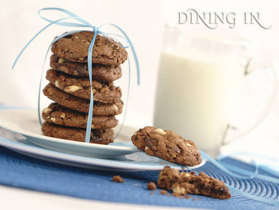 Speckled Chocolate Cookies
