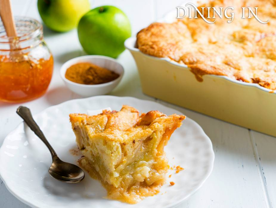 Tart and Tangy Apple Kugel