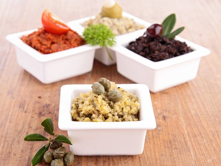Tapenade (Provencal Olive and Caper Paste)