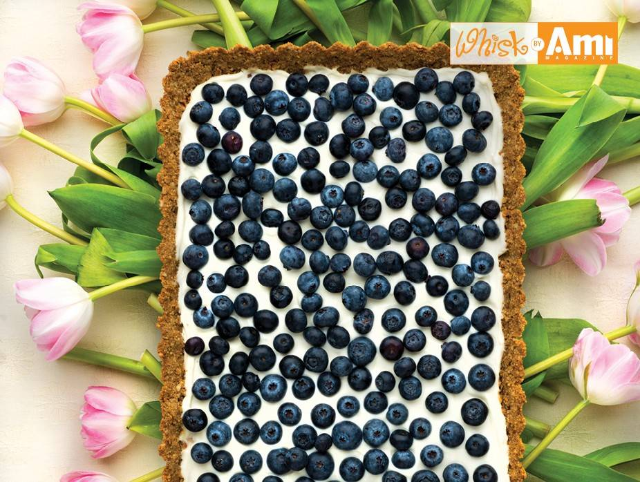 The Low Cal Blueberry Tart