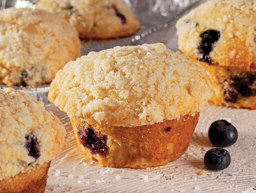 The Ultimate Blueberry Muffin