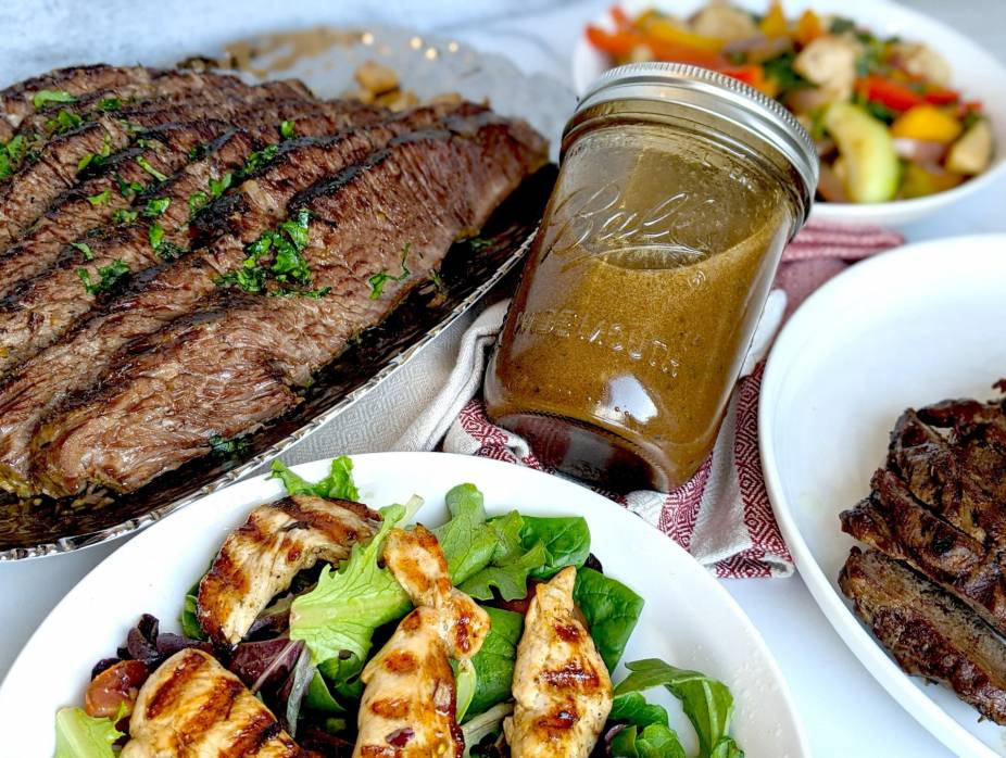Balsamic and Herb Marinade or Dressing