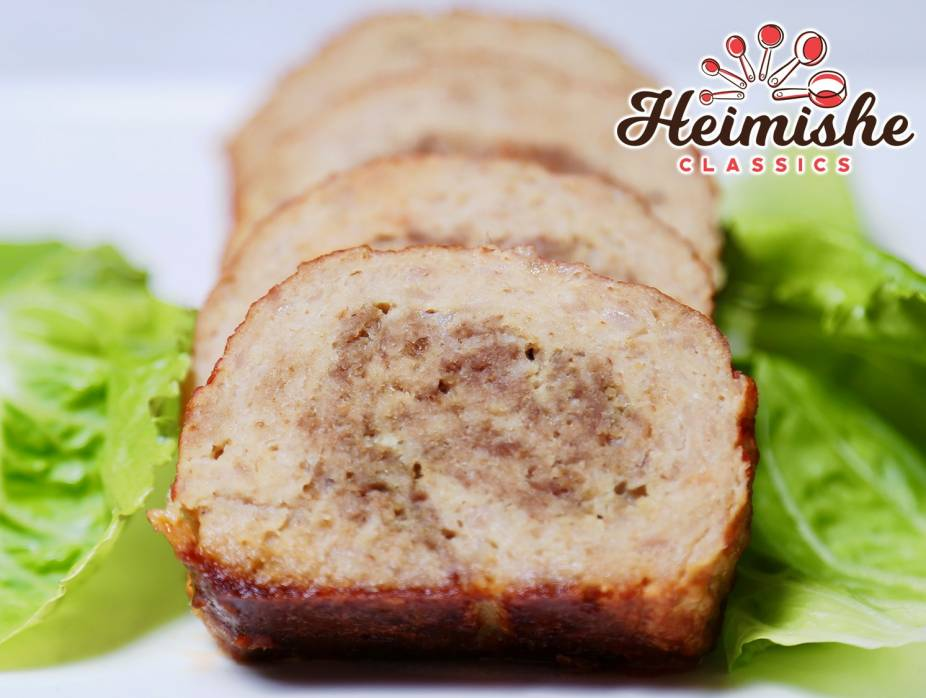 White and Brown Meat Roll