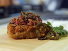 Twice Fried Pastrami Latkes