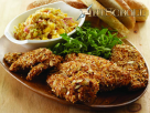 Hot and Crispy Chicken with Mango Slaw