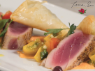 Spanakopita and Seared Tuna