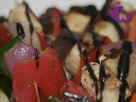 Balsamic Glazed Haloumi Skewers