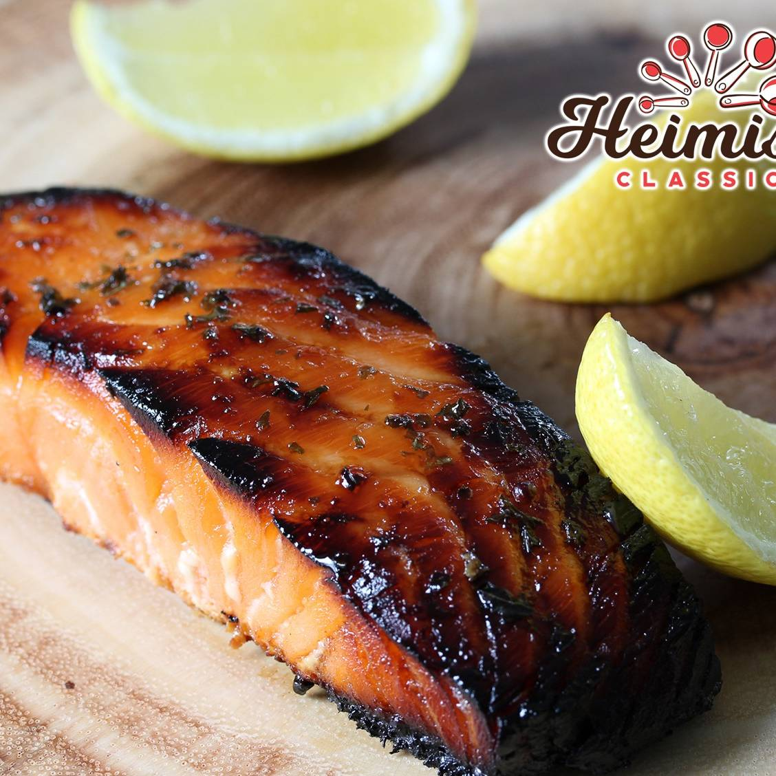 Baked Marinated Salmon