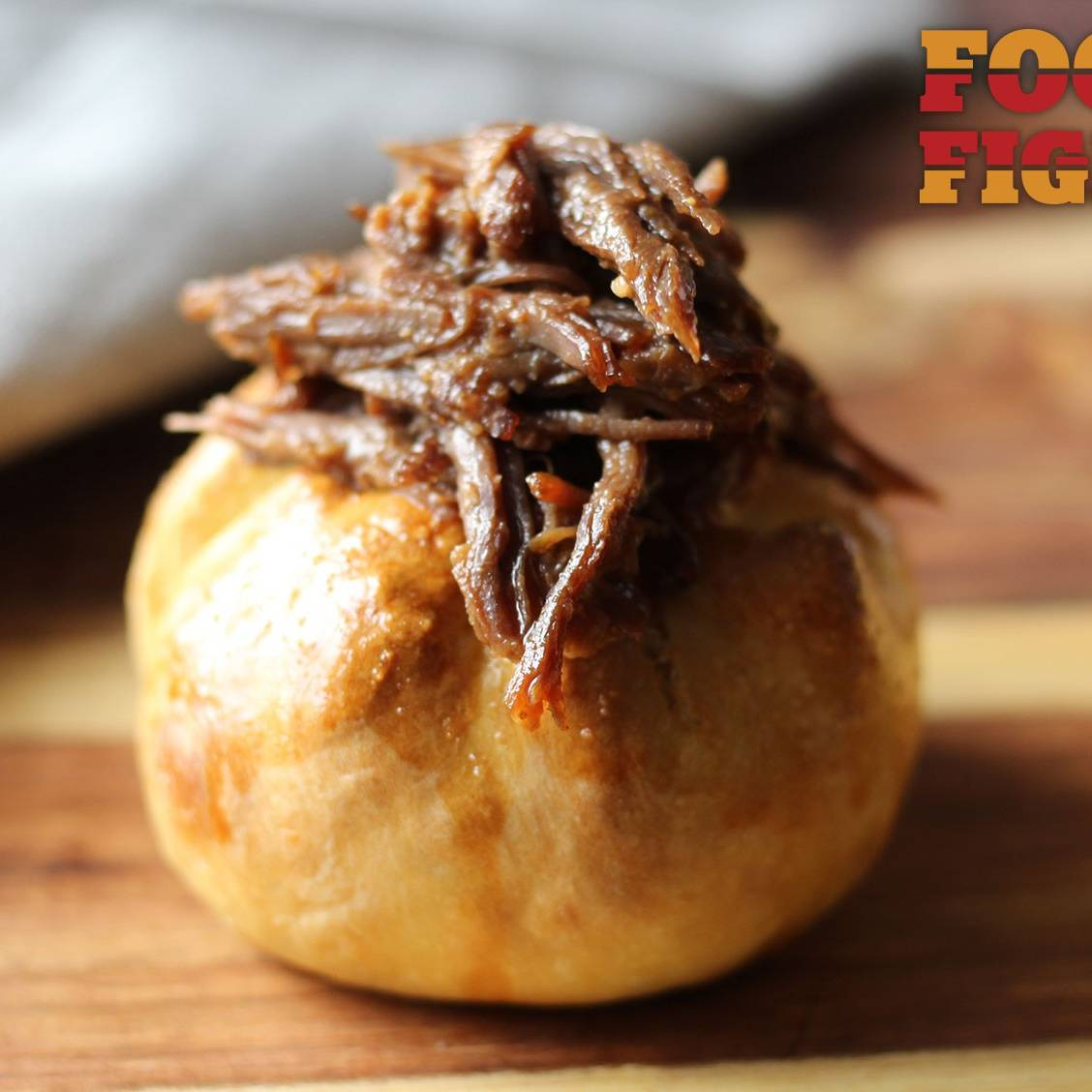 Pulled-Beef Potato Knishes