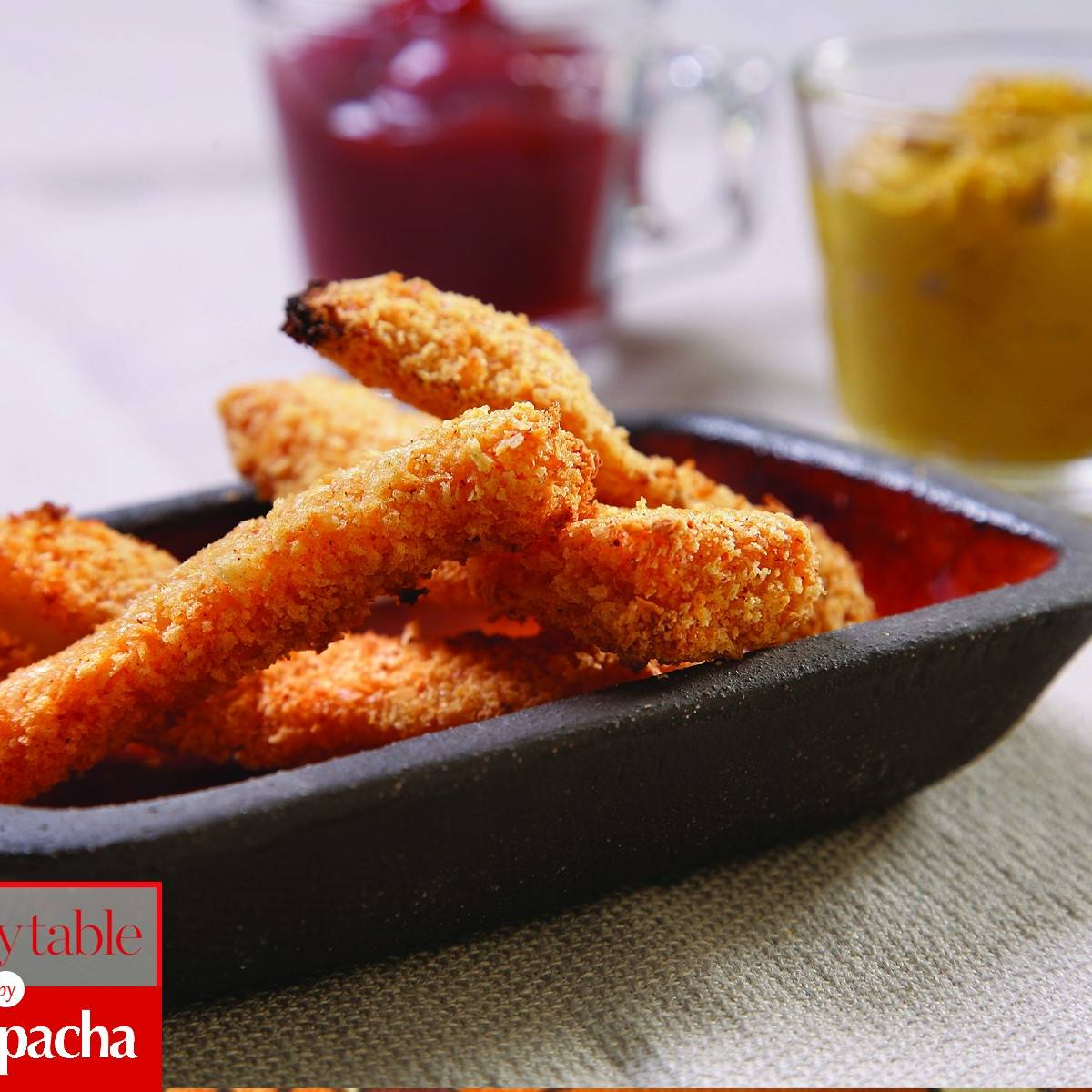Baked Chicken Nuggets With Mustard Dipping Sauce Recipes Kosher